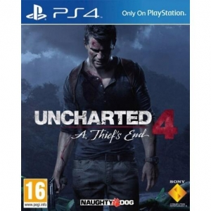 Uncharted 4 A Thiefs End voor de ps4
